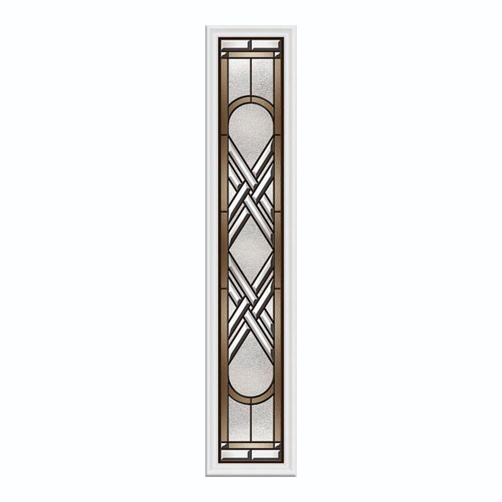 Ascot 8-inch x 48-inch Sidelight Oil-Rubbed Bronze Caming with HP Frame