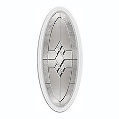 Kingston Medium Oval Nickel Caming with HP Frame