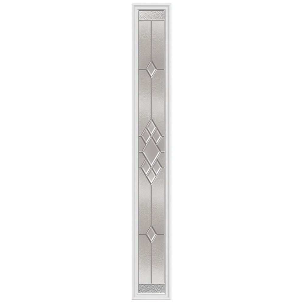 Kingston 8-inch x 64-inch Sidelight Platinum Nickel Caming with HP Frame