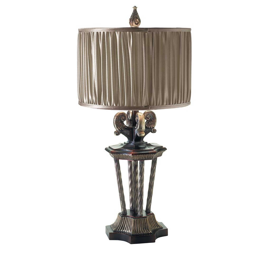 Amika Collection 1-Light Large Bronze Table Lamp 14593-017 Canada Discount