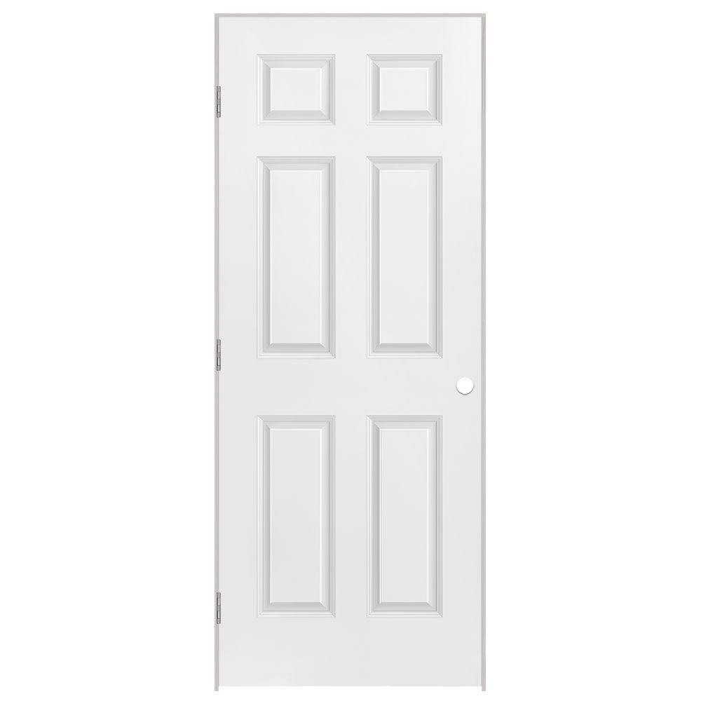 26x80x1-3/8 6 Panneaux Pré-montée main gauche