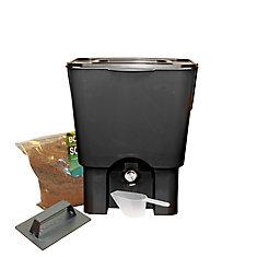 Kitchen Composter Kit, 5USG Black