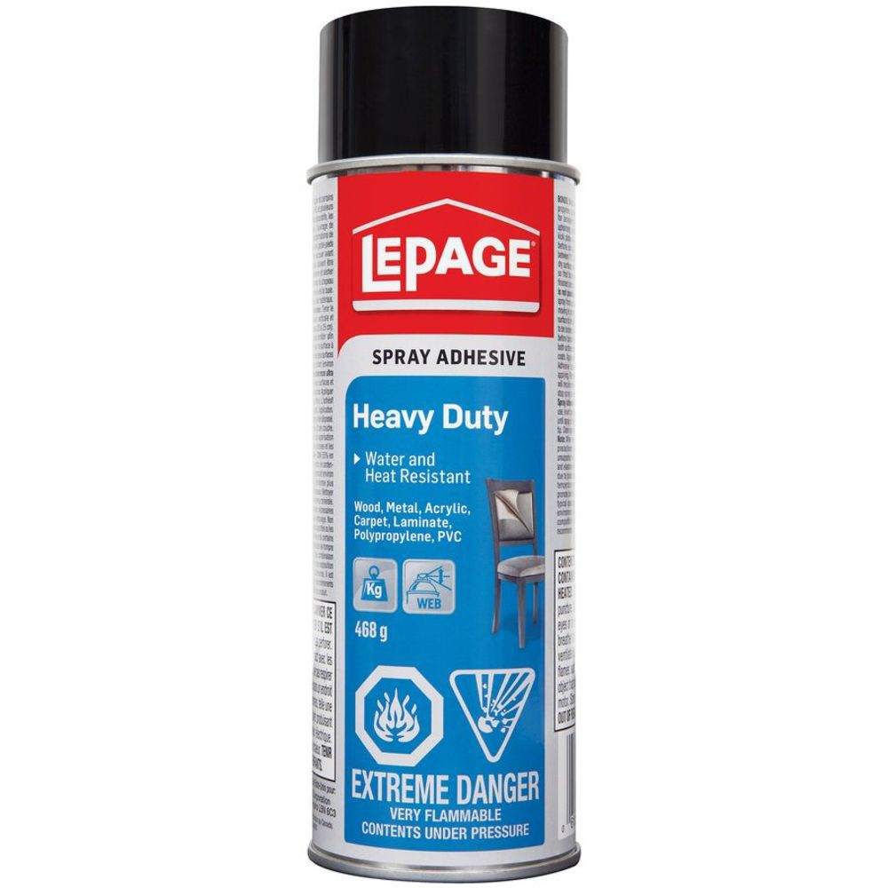 Lepage Pres-Tite Blue Spray Adhesive