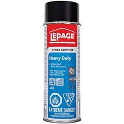 LePage Heavy Duty Spray Adhesive 468G