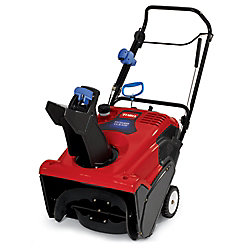 Toro Power Clear 621QZE Single-Stage Snow Blower with 21-Inch Clearing Width