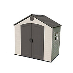 8 ft. x 5 ft. Steel and Polyethylene Storage Shed