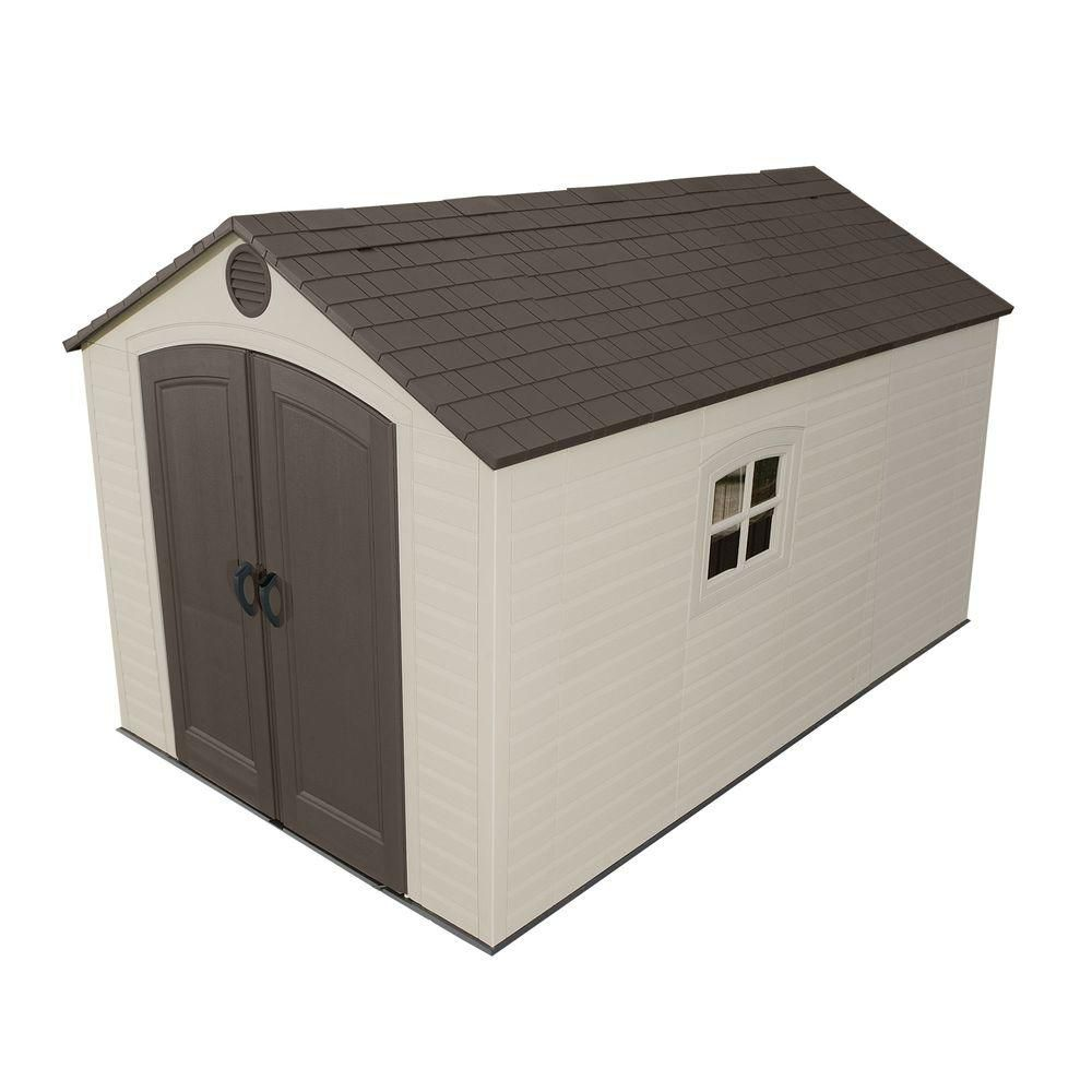 Lifetime  Storage Shed (8 Ft. x 12.5 Ft.)
