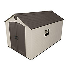 8 ft. x 12 1/2 ft. Storage Shed