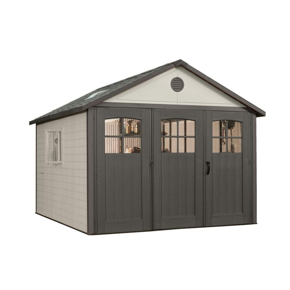 11 ft. x 21 ft. Carriage Door Building