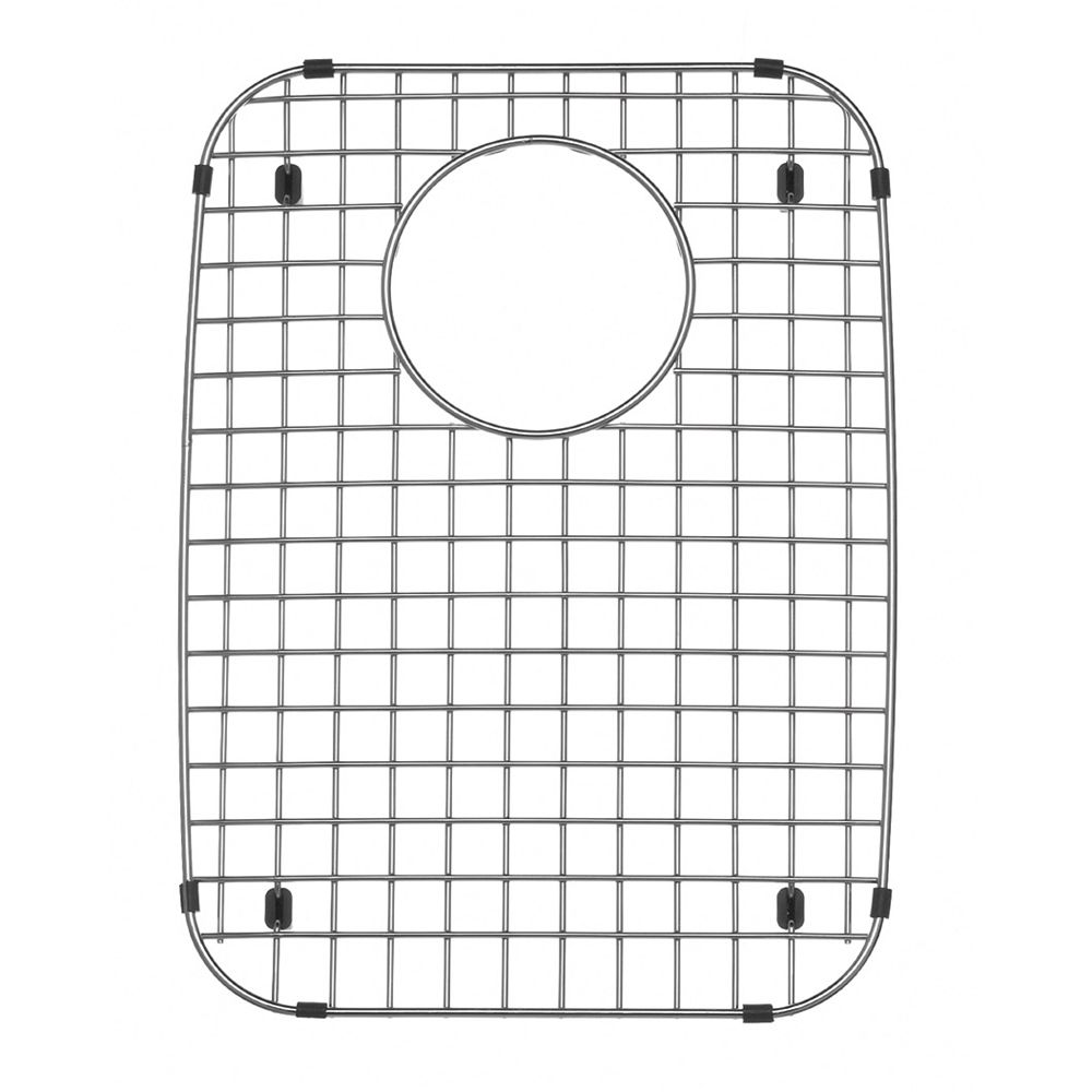 Custom-Fitted Stainless Steel Sink Grid
