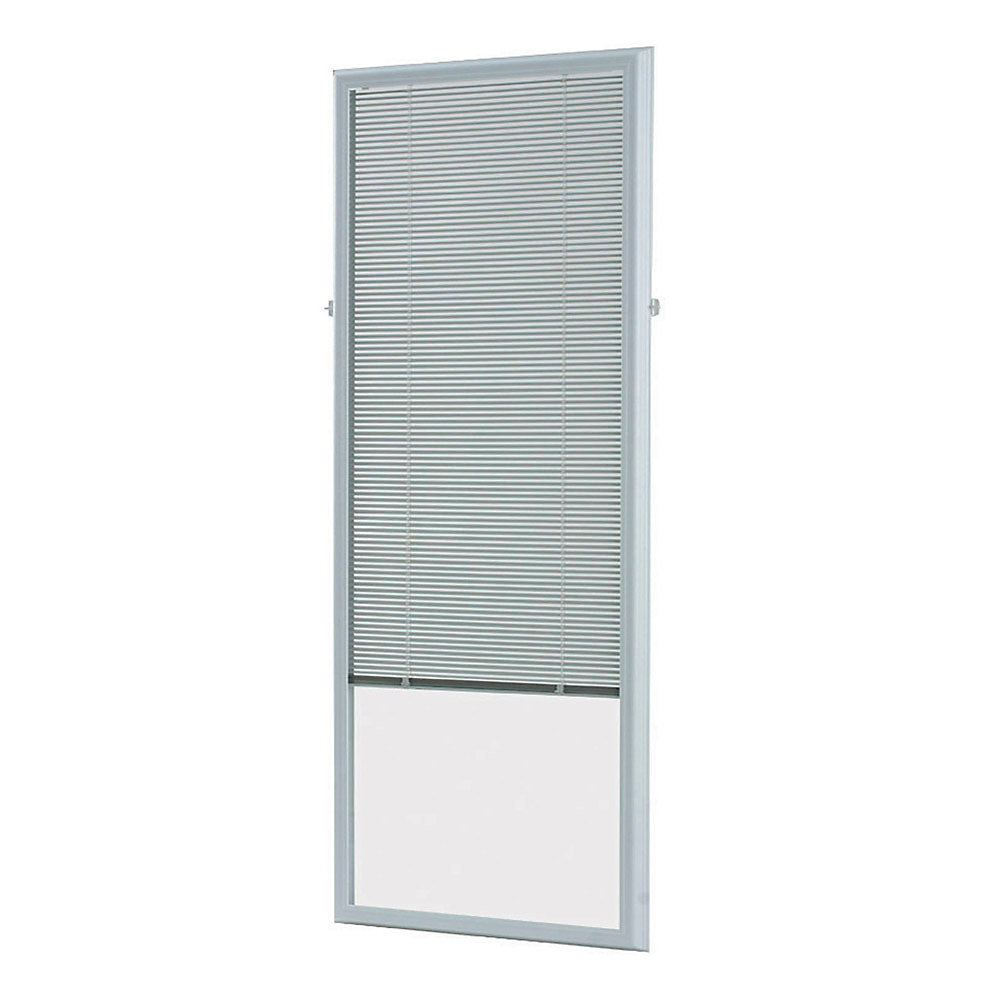 Odl 27 Inch X 66 Inch White Add On Blind For Flush Frame