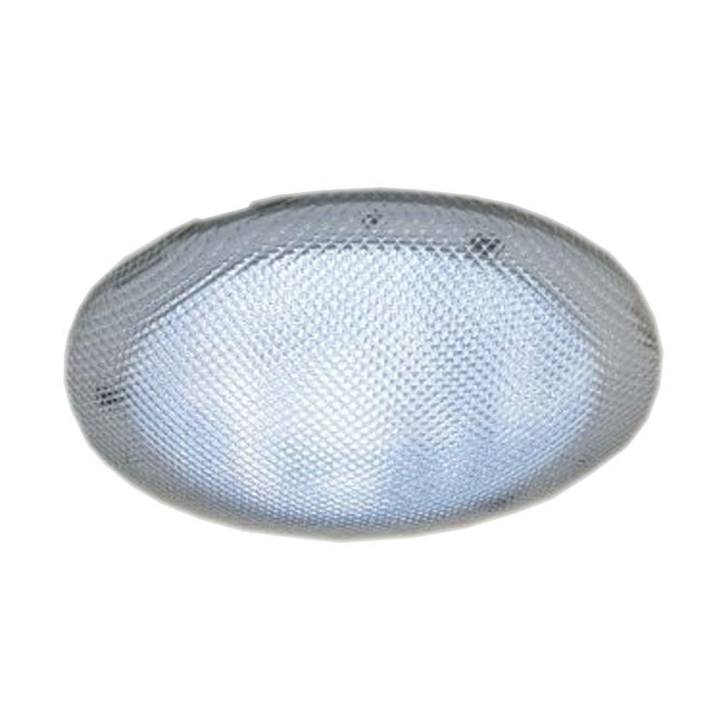Diffuseur transparent de 14 po pour fenêtres de toit tubulaires