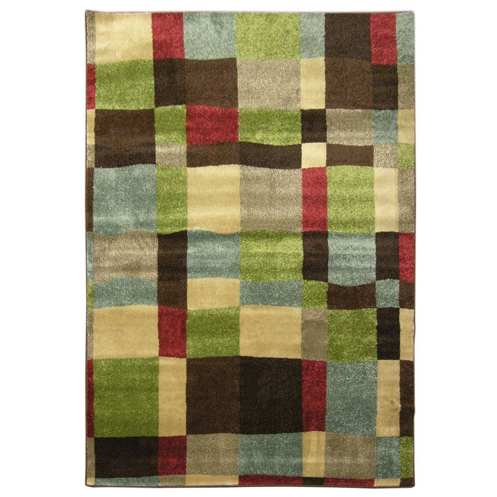 Multi London 7 Feet 8 Inch x 9 Feet 6 Inch Area Rug LOND810MU Canada Discount