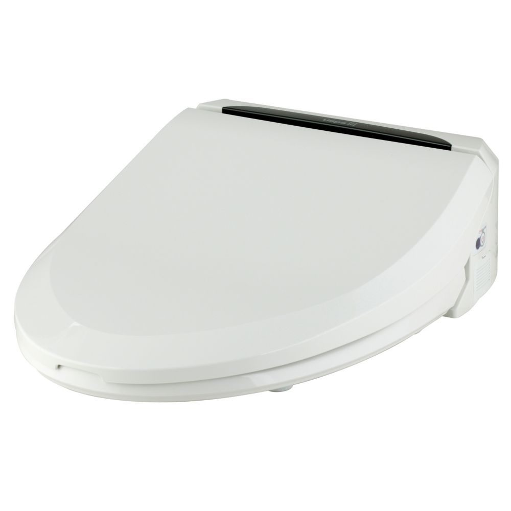 White Colour Bidet Seat - Small Size With Remote Control.