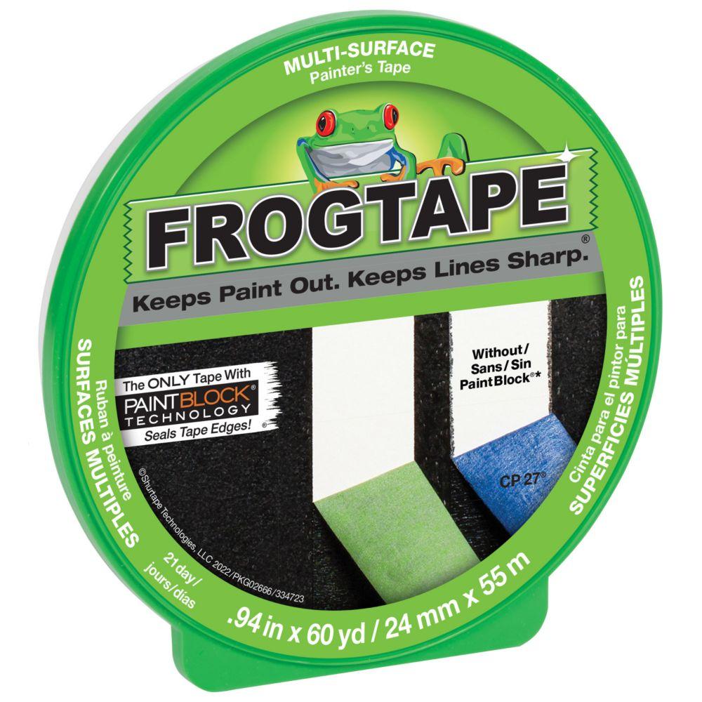 FrogTape 1 po  Ruban Adhesif