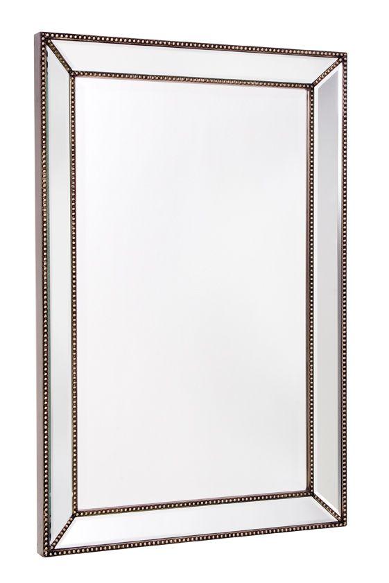 Miroir Trinity, cadre décoratif fini miroir - 24 po x 36 po