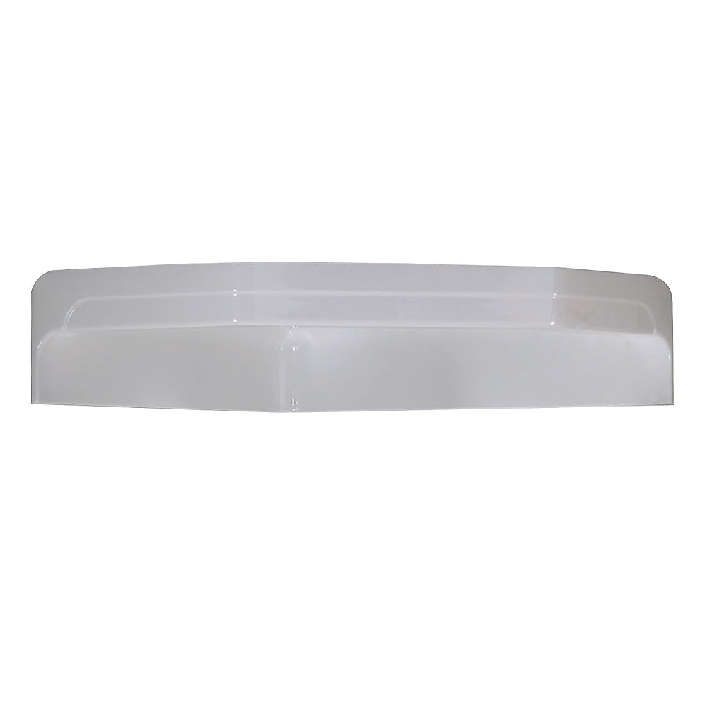 White Acrylic Roof Cap For Boreal Ii Neo-Angle Corner Shower