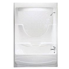 Montego 59.25-inch x 84-inch x 33-inch  Right Hand Drain Tub & Shower