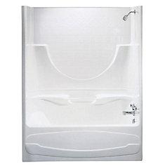 Montego 59.25-inch x 74-inch x 33-inch  Right Hand Drain Tub & Shower