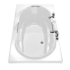 Maax Loft 6032 Acrylic Soaker Bathtub In White The Home