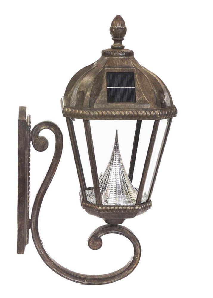 Royal solar lamp, wall mount