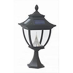 Pagoda Post Mount Solar Lamp