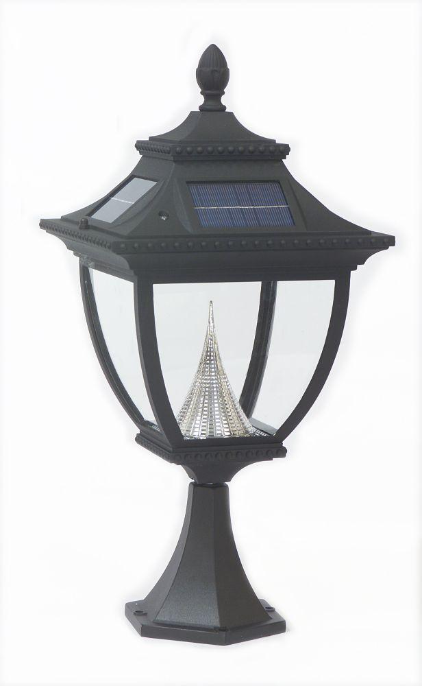 Lampe solaire Pagoda, se monte sur un poteau