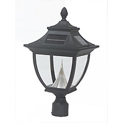 Gama Sonic Pagoda solar lamp, 3 inches fitter mount
