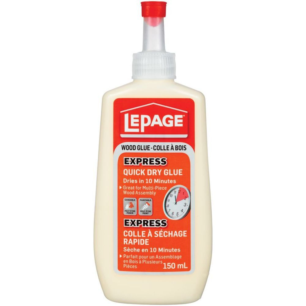 LePage Express Quick Dry Wood Glue 150Ml