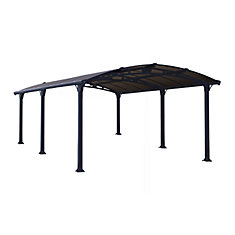 deluxe arcadia 5000 carport all seasons shelter