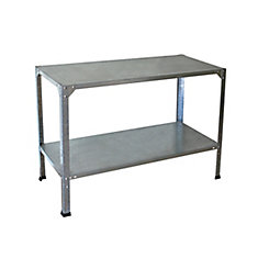 Deluxe 2 Tier Metal Shelving System