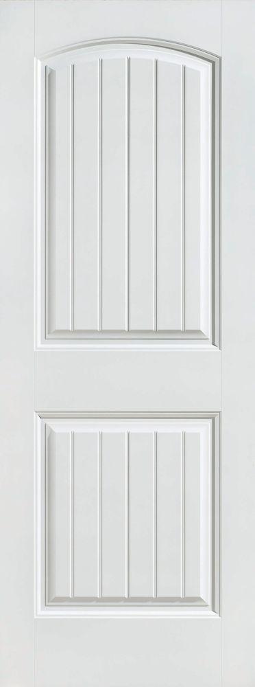 Masonite porte int rieure 2 panneaux planche lisse 36 for Porte 36 pouces