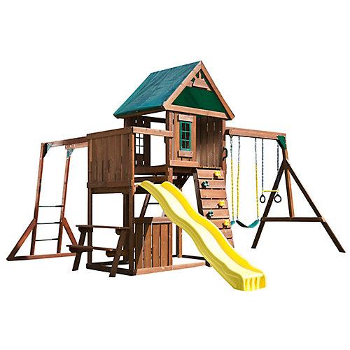 Structure de jeu en bois complète Chesapeake