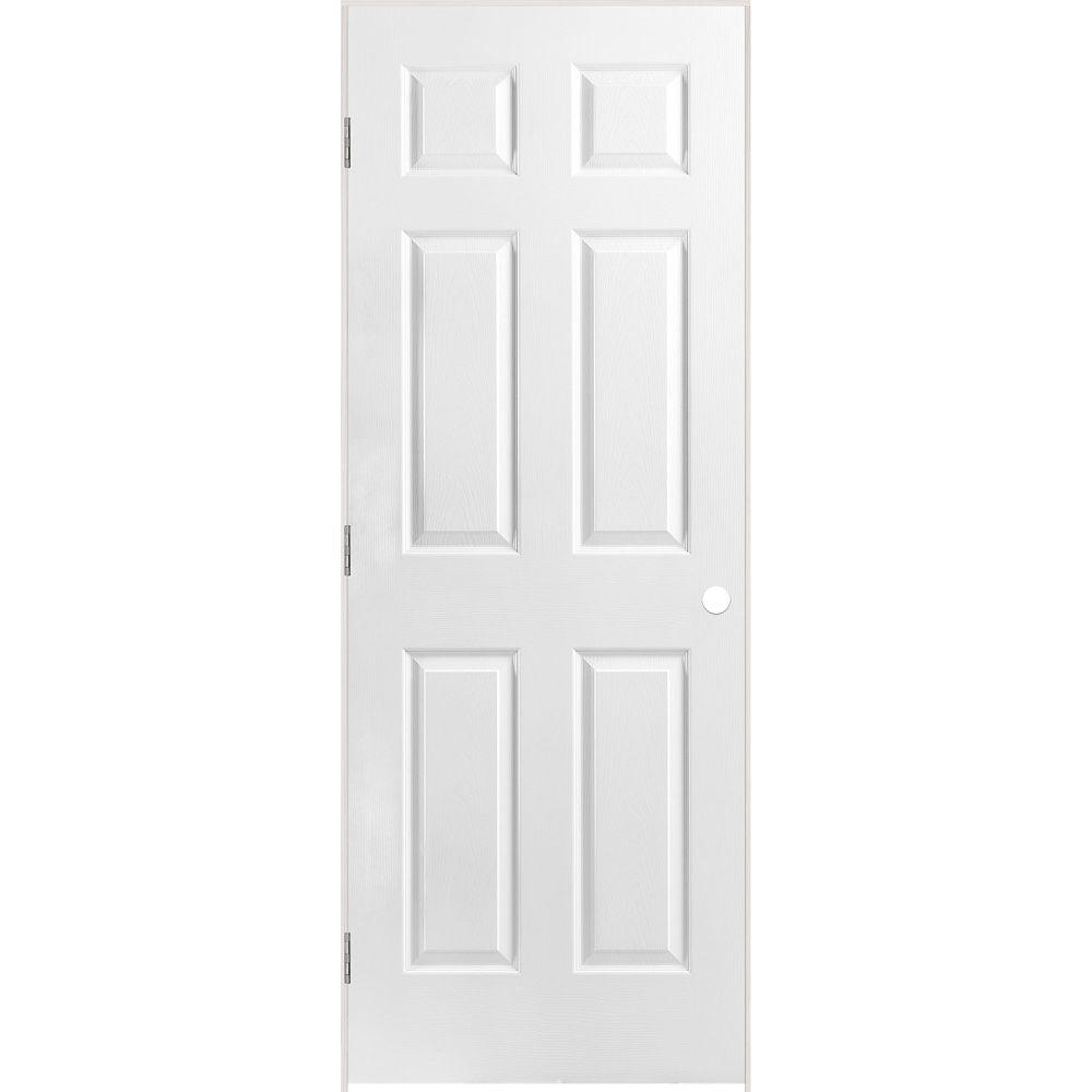 Masonite 28 Inch X 80 Inch Lefthand Primed 6 Panel