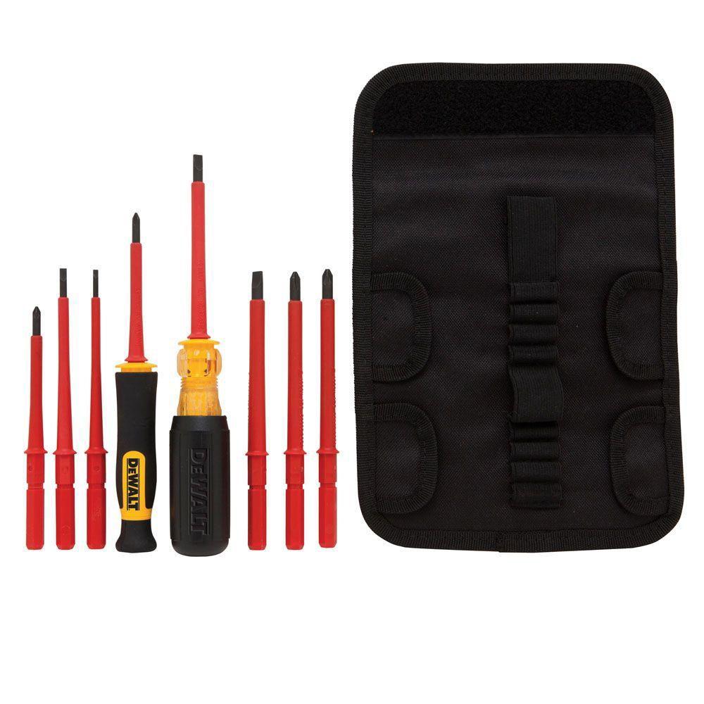 dewalt screwdriver vde 10 piece set the home depot canada. Black Bedroom Furniture Sets. Home Design Ideas