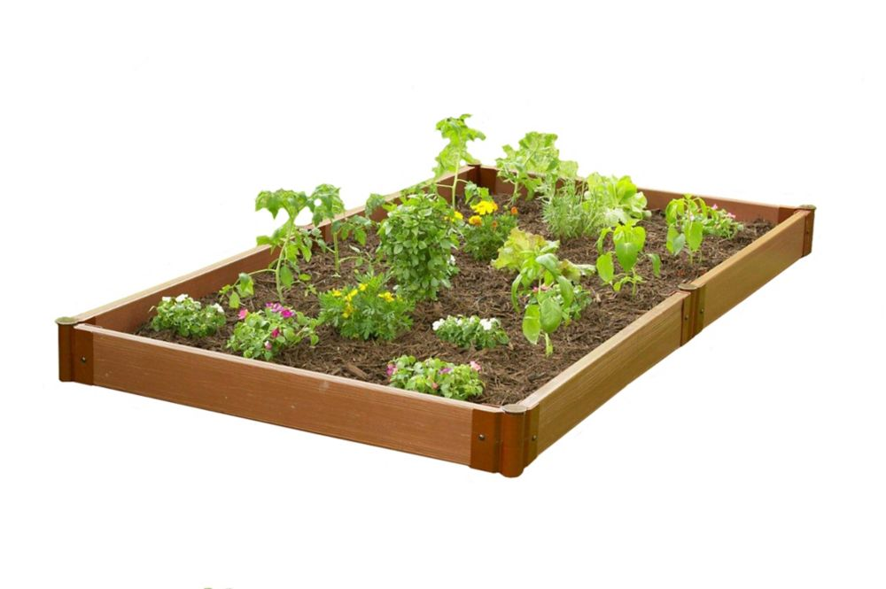 Jardin surélevé - 4 pi x 8 pi x 6 po