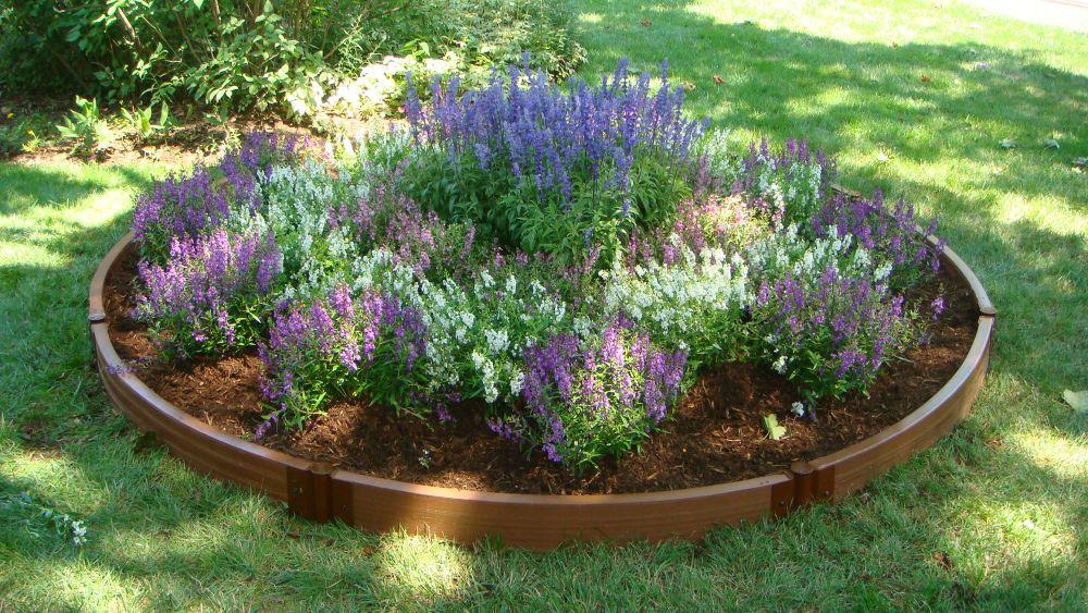 Raised Garden - 10.5 Feet Diameter Circle x 6 Inch High