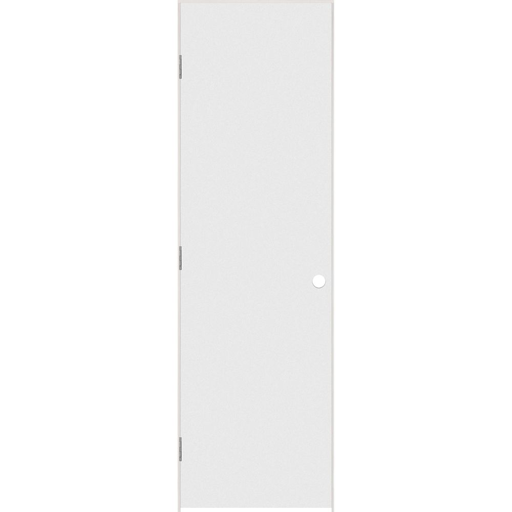 Porte intérieure prémontée rigide apprêté  avec rabbeted jamb 24 pouces x 80 pouces ouverture gau...