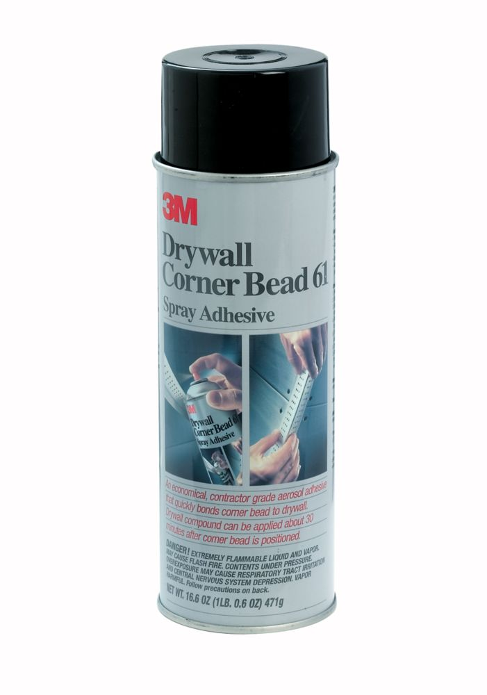 3M Spray 61 Corner Bead Adhesive | The Home Depot Canada