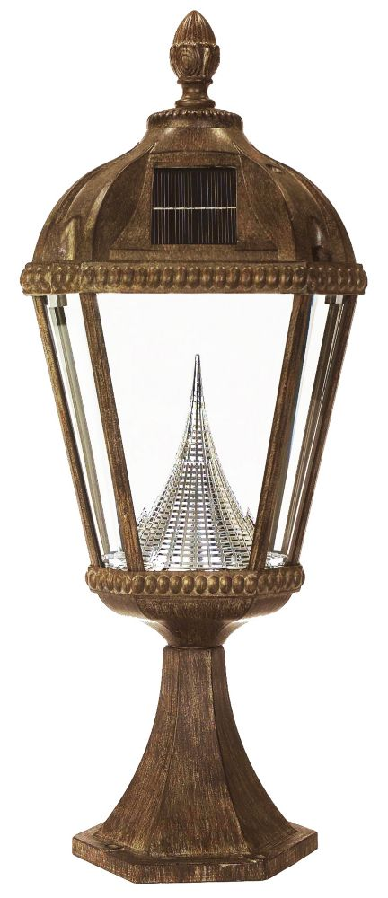 Royal solar lamp, post mount