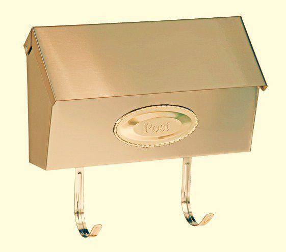 Mailbox - Swedish Anodized Brass