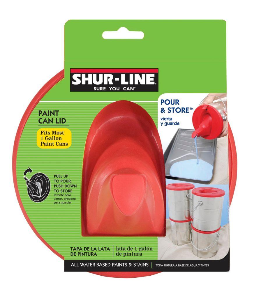 Pour & Store - Couvercle avec bec verseur pour pot de peinture