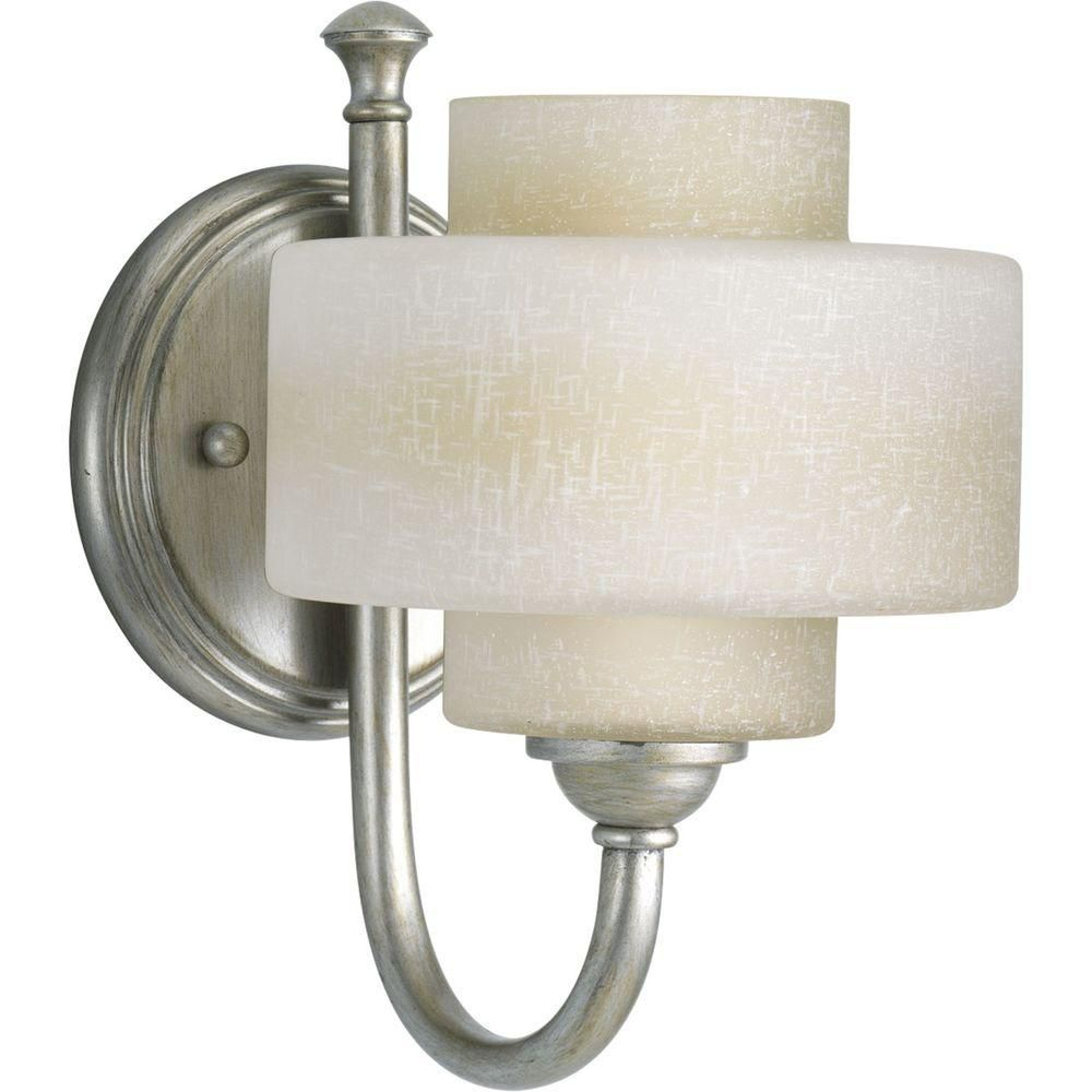 Ashbury Collection Silver Ridge 1-light Vanity Fixture