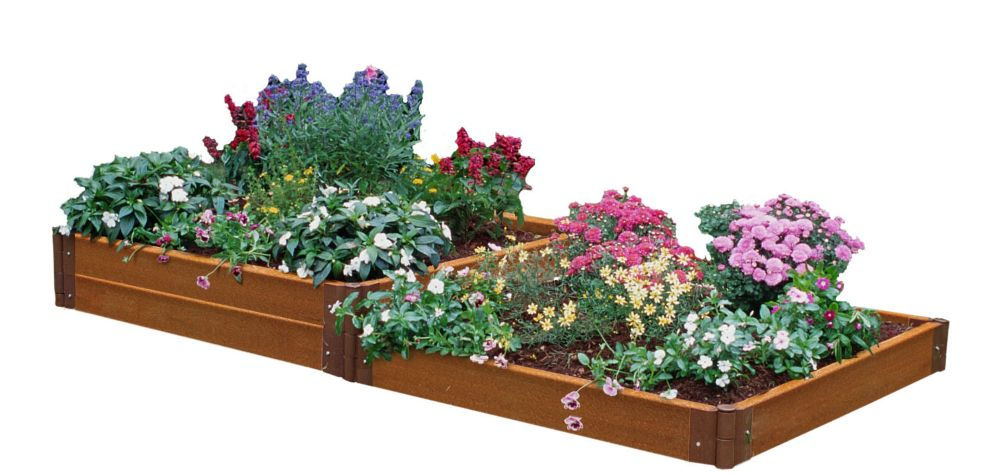 Two Stepper Raised Garden - 4 Feet x 8 Feet x 12 Inch
