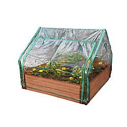 Frame It All Extendable Cold Frame Greenhouse