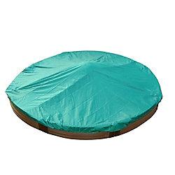 Frame It All Bac à sable circulaire avec housse - 10,5 pi (diamètre) x 12 po (hauteur)