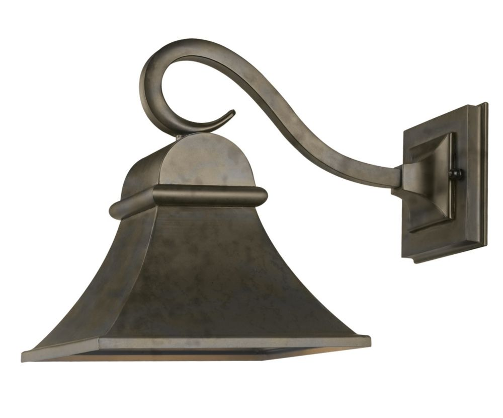 Dark Sky Revere Collection Wall-Mount Outdoor Flemish Lantern