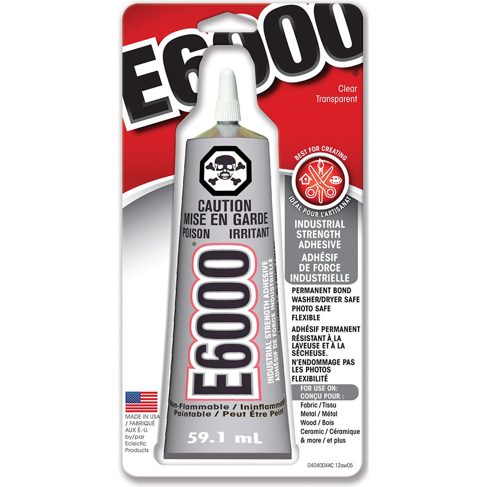 E6000 Craft Adhesive (59.1 ml) / 2 oz.