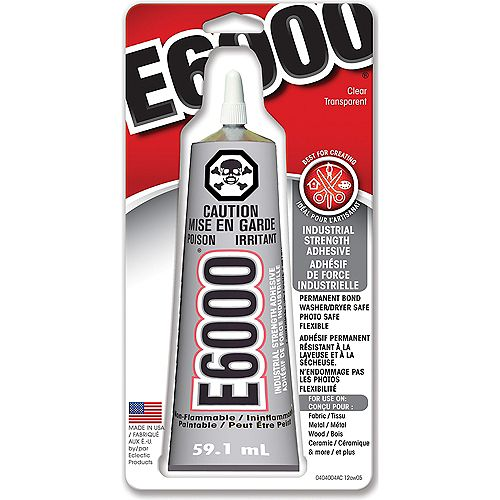 E6000 Series E6000 Craft Adhesive (59.1 ml) / 2 oz.