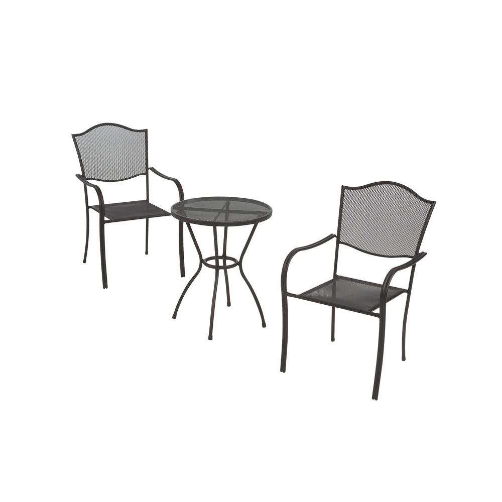 Unbranded burlingame steel mesh outdoor stacking chair for Mesh patio chairs